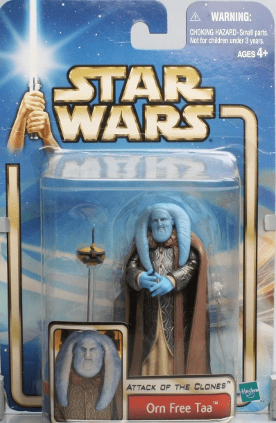Star Wars Attack of the Clones Orn Free Taa Figure