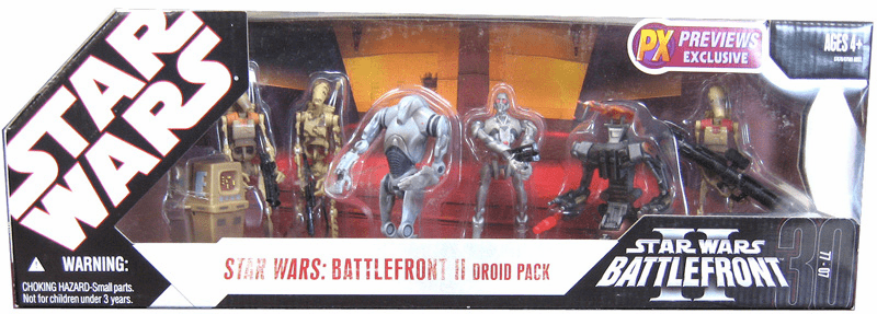 Star Wars Battlefront II Droid Action Figure Pack
