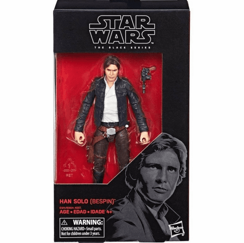 Star Wars Black Series The Empire Strikes Back Bespin Han Solo Figure