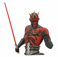 Star Wars Clone Wars Darth Maul Bust Coin Bank