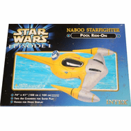 Star Wars Episode I Naboo Starfighter Pool Toy