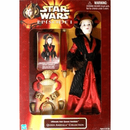Star Wars Episode I Ultimate Hair Queen Amidala Doll