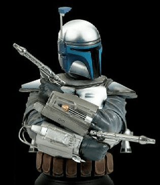 Star Wars Gentle Giant Jango Fett Bust