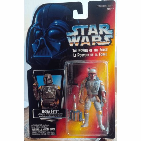 Star Wars Power of the Force Boba Fett Figure