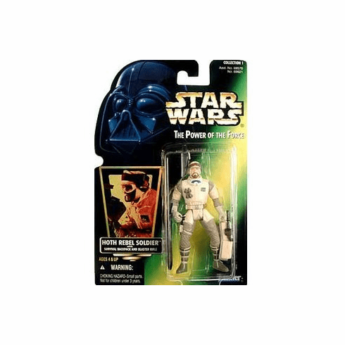 Power of the Force POTF - Action Figure Hoth Rebel Soldier Star Wars 3.75