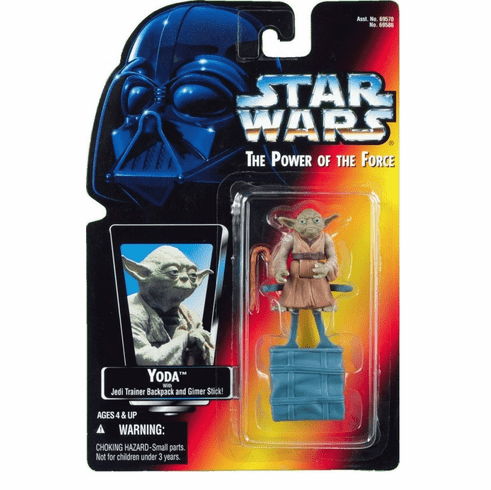 Star Wars Power of the Force Yoda Figure