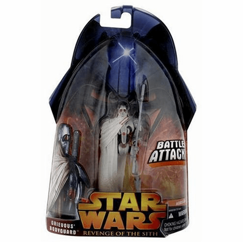 Star Wars Revenge of the Sith Grievous's Bodyguard Figure