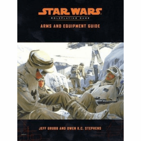 Star Wars RPG Arms and Equipment Guide
