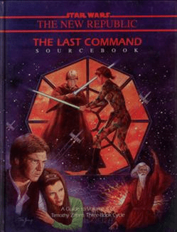 Star Wars RPG New Republic The Last Command Hardcover Sourcebook