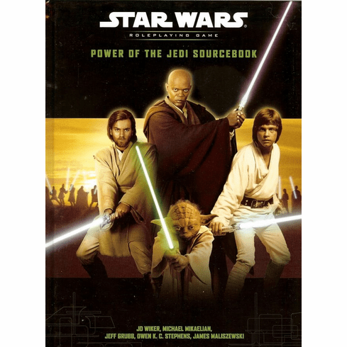 Star Wars RPG Power of the Jedi Sourcebook