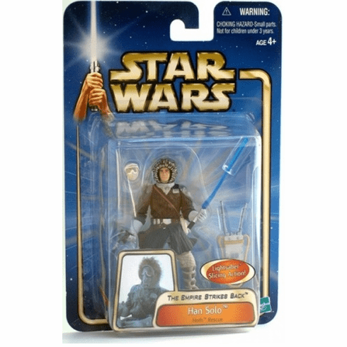 Star Wars Saga Hoth Rescue Han Solo Figure