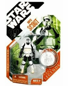 Star Wars Saga Legends Biker Scout Figure