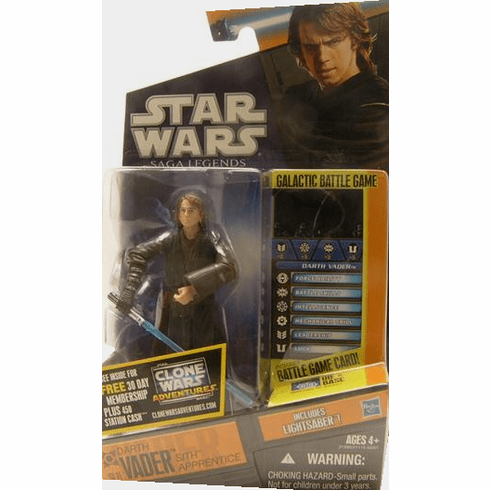 Star Wars Saga Legends Darth Vader Sith Apprentice Figure
