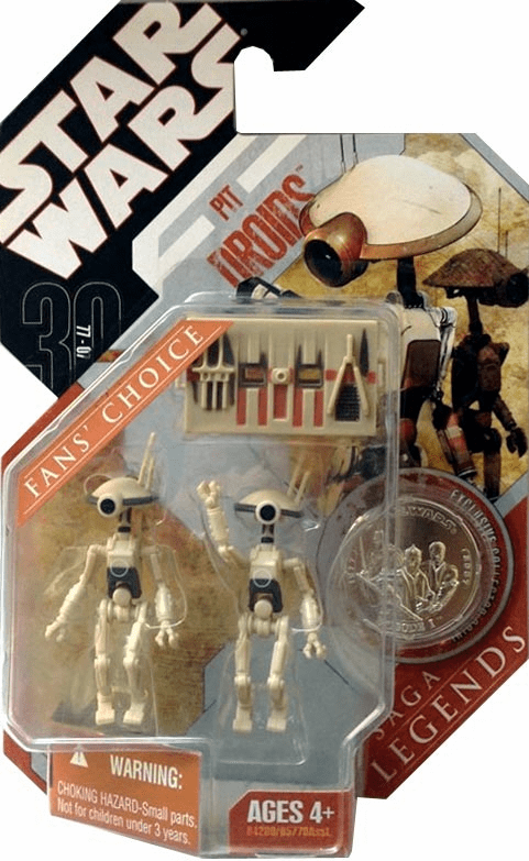 Star Wars Saga Legends Fans Choice Pit Droids Figure