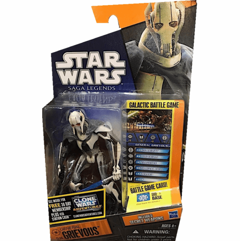 Star Wars Saga Legends General Grievous Figure