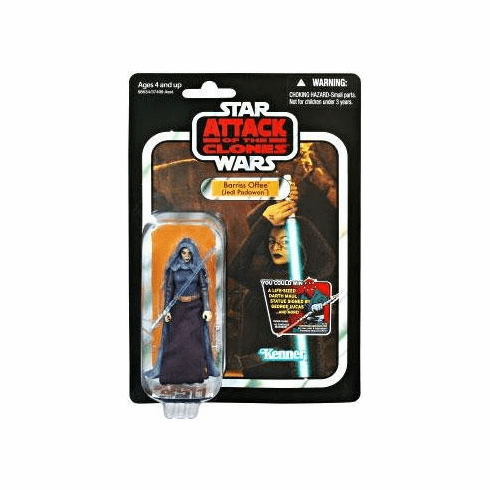 Star Wars Saga Vintage Collection Attack of the Clones Barriss Offee Figure