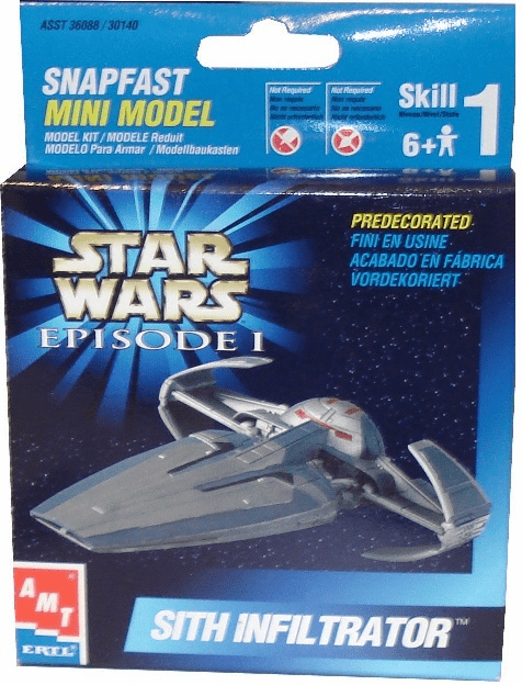 Star Wars Sith Infiltrator Snapfast Mini Model