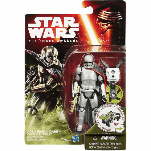 Star Wars The Force Awakens Captain Phasma Figure