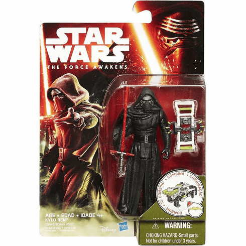 Star Wars The Force Awakens Forest Mission Kylo Ren Figure