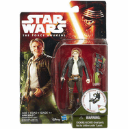 Star Wars The Force Awakens Han Solo Figure