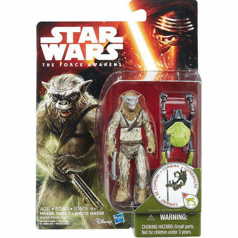 Star Wars The Force Awakens Hassk Thug Figure