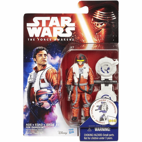 Star Wars The Force Awakens Poe Dameron Figure