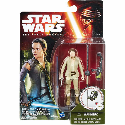 Star Wars The Force Awakens Resistance Rey Figure