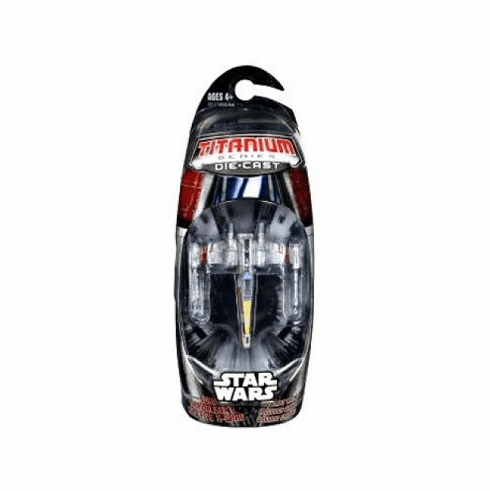 Star Wars Titanium Luke Skywalker's Red Five X-Wing Vehicle