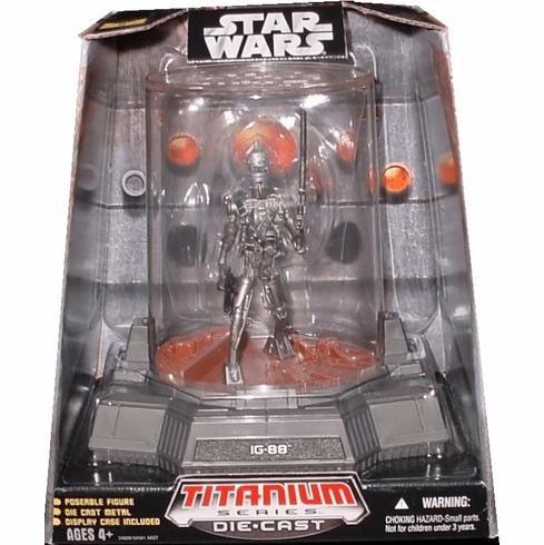 Star Wars Titanium Series IG-88 Figure