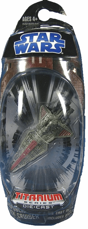 Star Wars Titanium Series Republic Attack Cruiser Vehicle