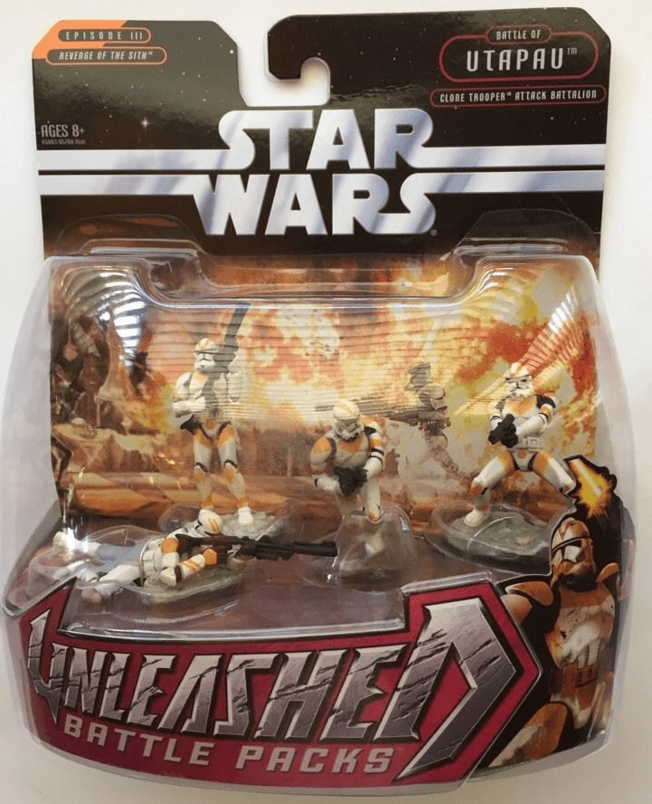 Star Wars Unleashed Clone Trooper Attack Battalion Battle Pack