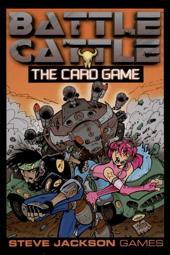 Steve Jackson Games Battle Cattle Card Game