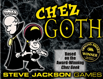 Steve Jackson Games Chez Goth Card Game