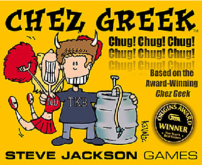 Steve Jackson Games Chez Greek Card Game