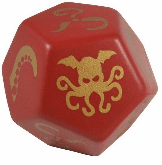 Steve Jackson Games Giant Cthulhu Foam Red Dice