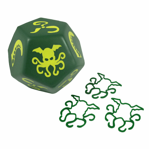 Steve Jackson Games Giant Foam Cthulhu Green Dice