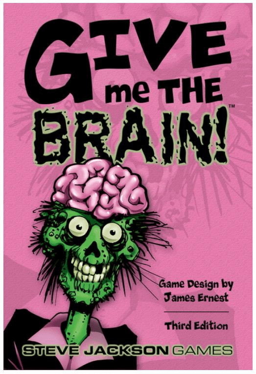 Steve Jackson Games Give Me the Brain Card Game