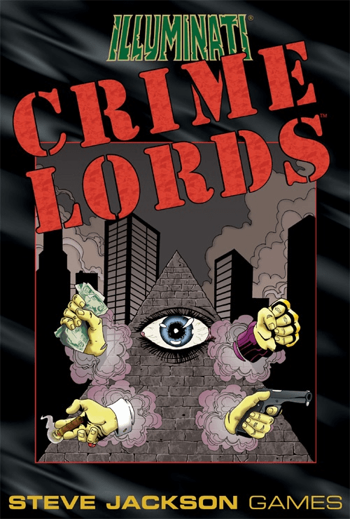 Steve Jackson Games Illuminati Crime Lords Card Game