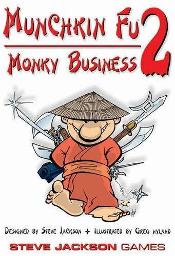 Steve Jackson Games Munchkin Fu 2 Monky Business Card Game