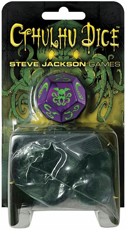 Steve Jackson Games Purple Cthulhu Dice Game