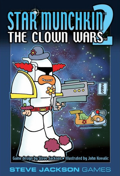 Steve Jackson Games Star Munchkin 2 The Clown Wars Expansion Set