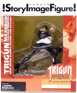 Story Image Figure Trigun Maximum Nicholas Wolfwood Figure
