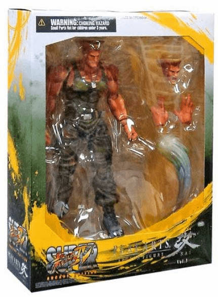 Street Fighter IV Play Arts Kai Guile Action Figure