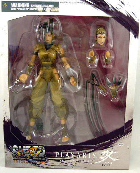 Street Fighter IV Play Arts Kai Ibuki Action Figure