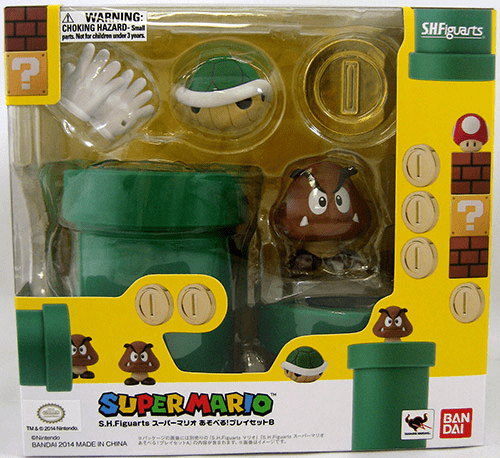 Super Mario Brothers S.H.Figuarts Pipe D-Arts Playset