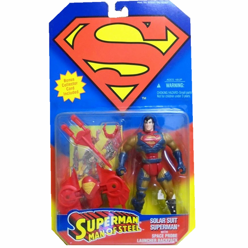 Superman Man of Steel Solar Suit Superman Figure