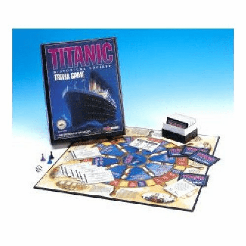 Talicor Titanic Trivia Board Game