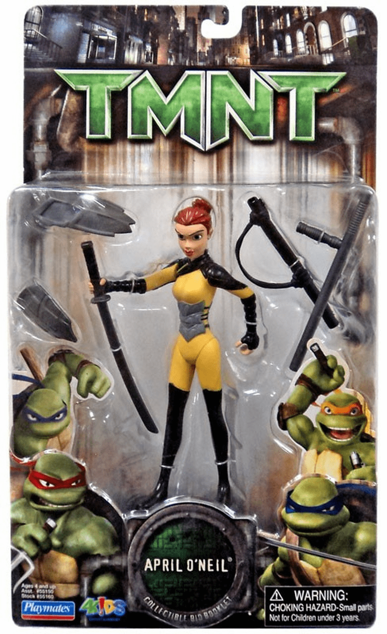 Teenage Mutant Ninja Turtles Movie April O'Neil Figure