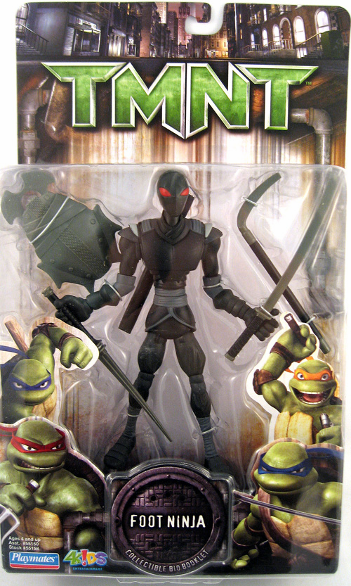 Teenage Mutant Ninja Turtles Movie Foot Ninja Figure