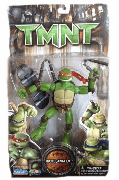 Teenage Mutant Ninja Turtles Movie Michelangelo Figure